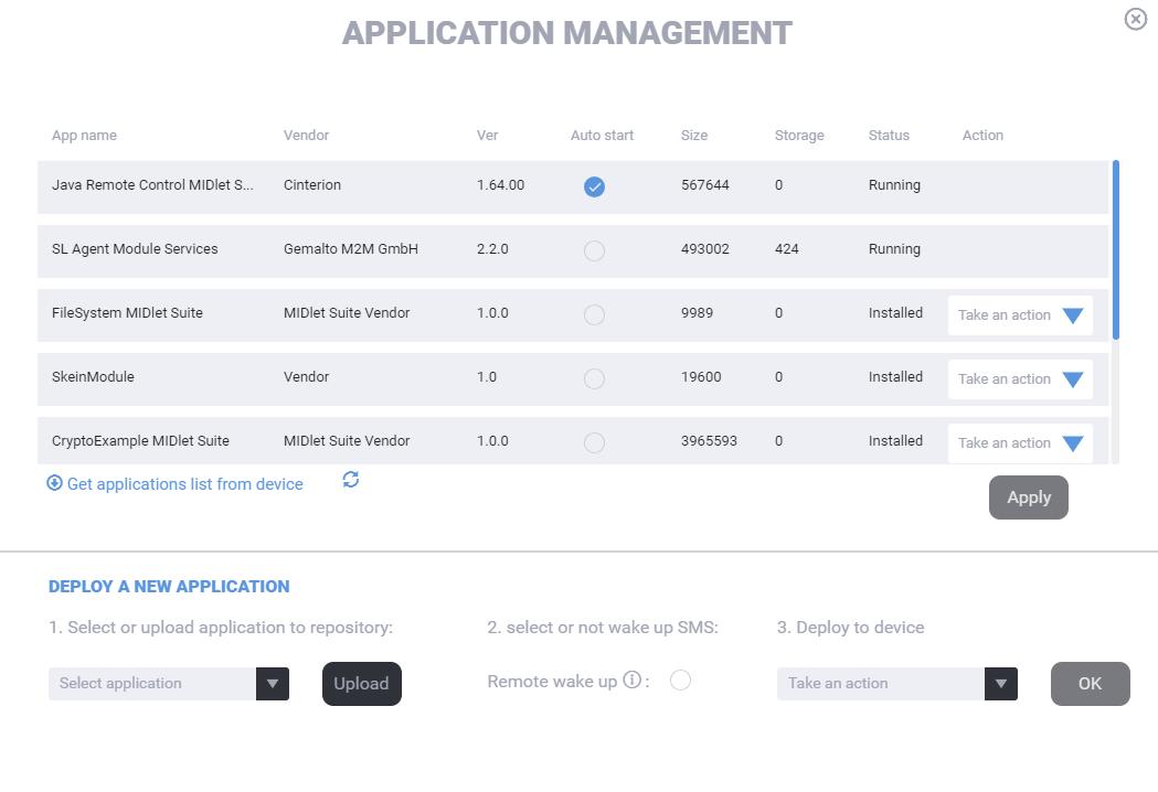 Application management 1