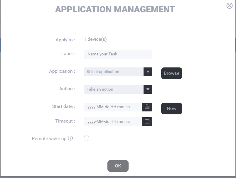 Application management 2