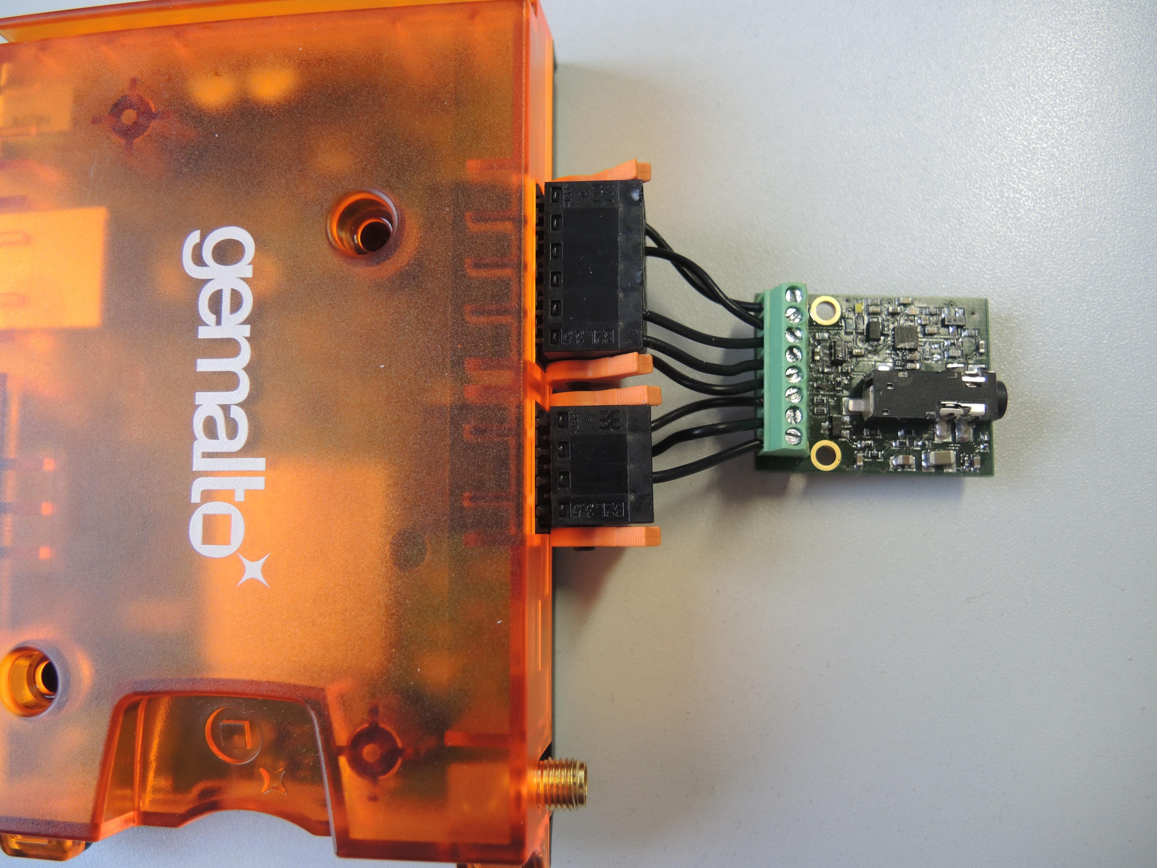 LUNA LAN Terminal with Audio Encoder Board