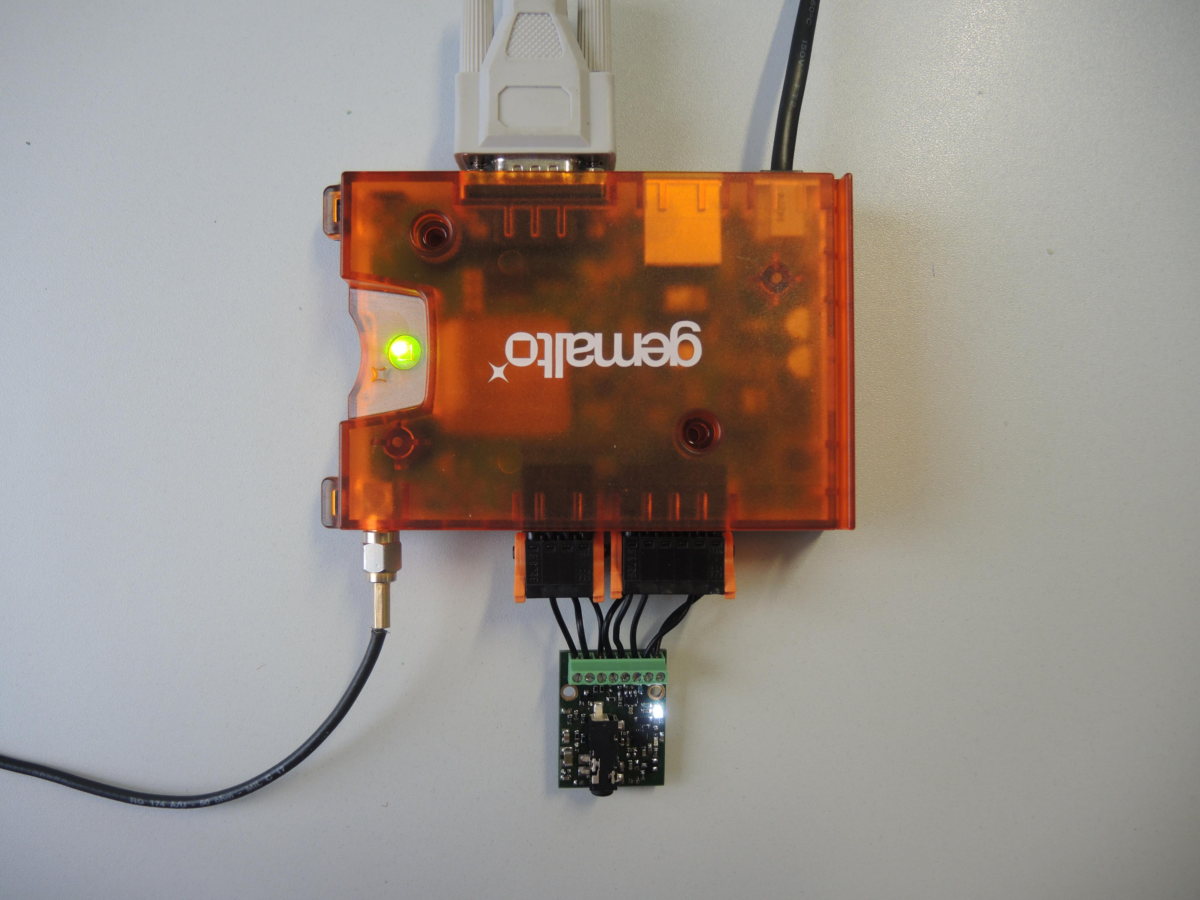 LUNA LAN connected to PC and Encoder Board