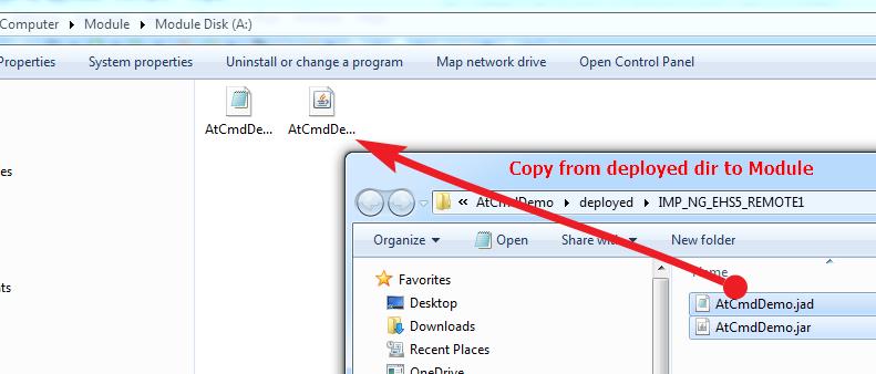 Copy JAD/JAR files